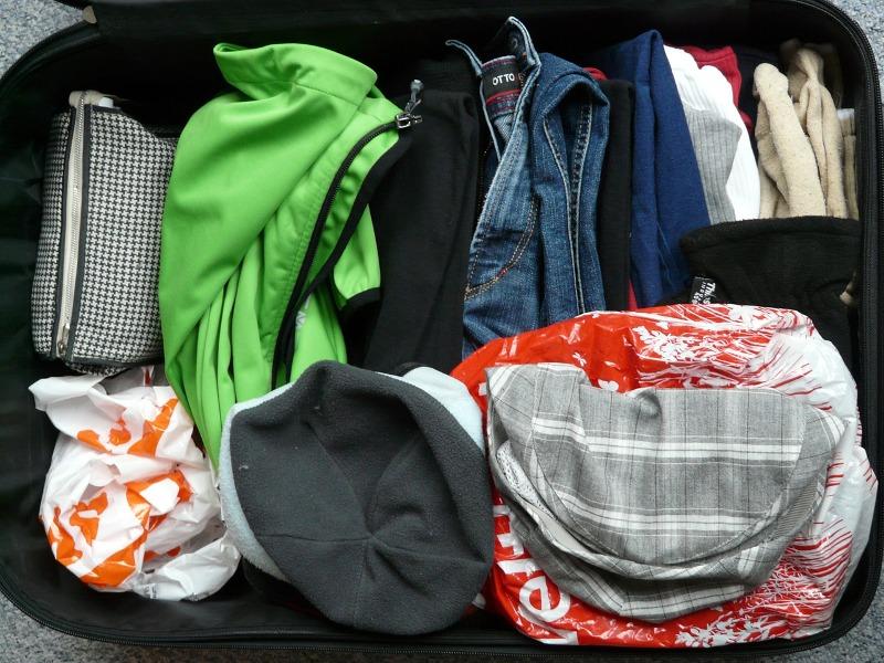 Como arrumar as malas de viagem